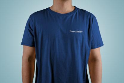 T-Shirt Escoteiros Azul